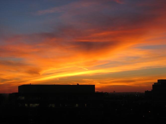 Toronto Sky - Mary Giles - October 2004